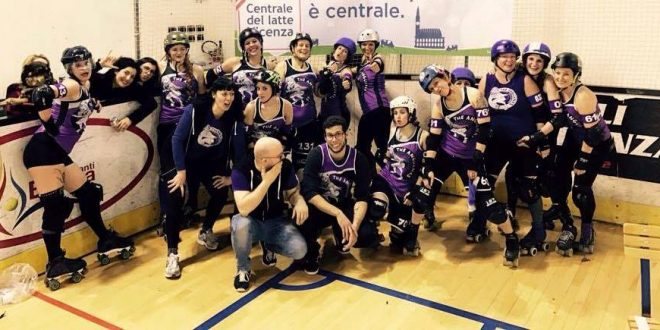 The Anguanas – Roller Derby Vicenza
