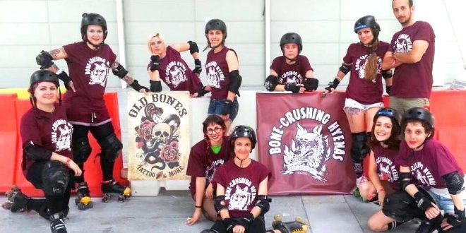 Bone-Crushing Hyenas – Roller Derby Bologna