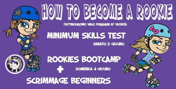 How to become a rookie: weekend dedicato alle beginners a Vicenza!