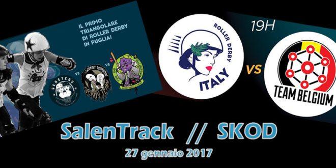 SalenTrack e Italia-Belgio: un sabato pieno di roller derby… in streaming!