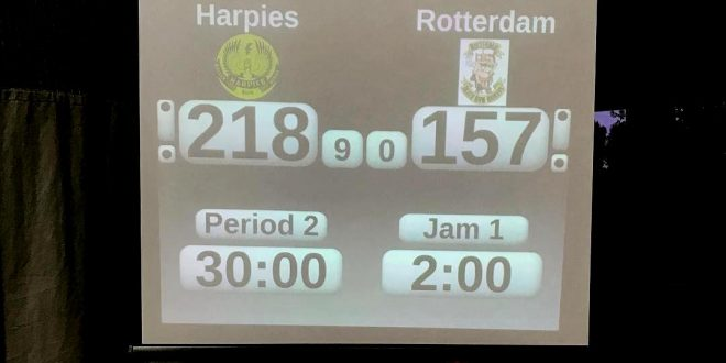 Le Harpies battono la squadra di Rotterdam: la replica dello streaming.