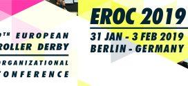 EROC 2019 – torna l'appuntamento per incontrarsi e parlare di roller derby!