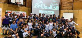 Il Team Italy supera l'Austria in amichevole