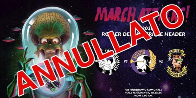 Annullato il March Attaks! di Vicenza